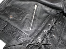 kožená moto bunda Křivák - hovězí kůže