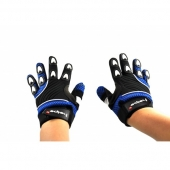 dětské rukavice na motokros Heipe modré