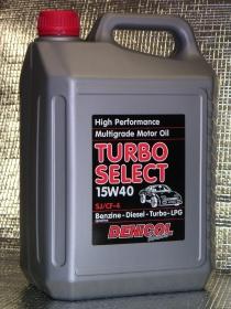 motorový olej Denicol TURBO SELECT 15W40 - 5l