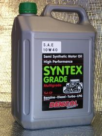 motorový olej Denicol SYNTEX GRADE 10W40 - 5l