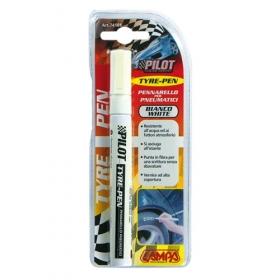barevná tužka na popis pneumatiky