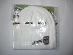 zimní čepice Ufo bílá