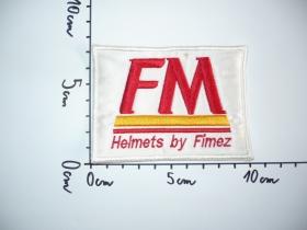 nášivka FM Helmets