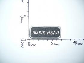 nášivka Block Head