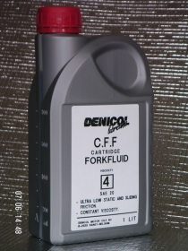 tlumičový olej Denicol CARTRIDGE FORKFLUID SAE 20 - 1l