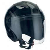 otevřená helma Speeds City II černá lesklá grafika