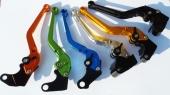 barevné CNC páčky