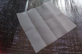 Speciální prachový filtr - arch plastové síťky - převlek