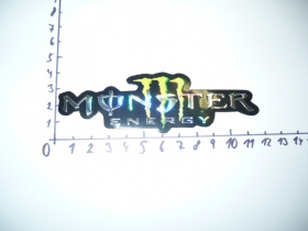 samolepka Monster 3D malá
