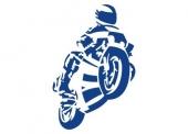samolepka motorka