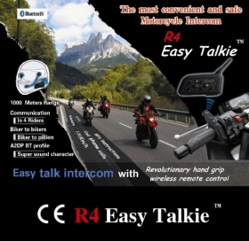 Bluetooth handsfree headset R4 Easy Talkie (SADA PRO 2 HELMY)