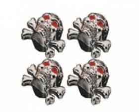 čepičky lebka s hnáty