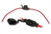 pojistkové pouzdro s kabelem