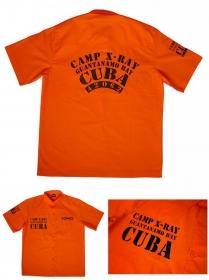 vězeňská košile Cuba