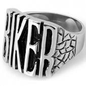 motorkářský prsten Biker