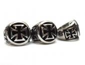 motorkářský prsten maltézský kříž