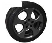 Foliatec - stříkací folie černá matná