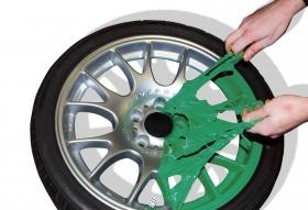 Foliatec - stříkací folie zelená lesklá