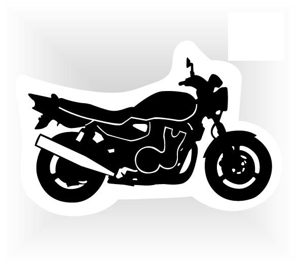 samolepka motorka - naháč 5b9d780c85