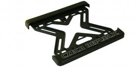 podznačka s 3D logem Czech Republic - moto