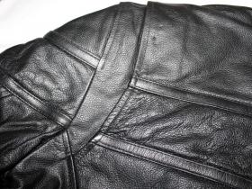 kožená moto bunda Bos černá
