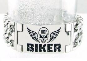 motorkářský náramek Biker