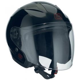 otevřená helma Speeds City II černá lesklá