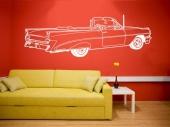 samolepka na zeď auto