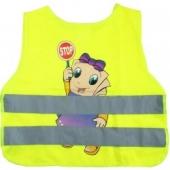 dětská výstražná vesta - holka