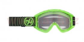 brýle na motokros Nox N1 zelené