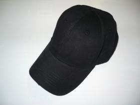 kšiltovka celá černá