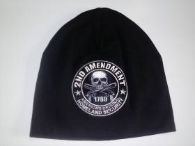 zimní čepice s vyšitím
