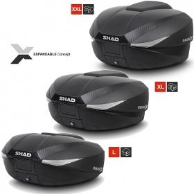 moto kufr Shad SH58X - rozšiřitelný