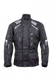 textilní moto bunda Roleff Rujana černá