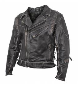 kožená moto bunda křivák Terminator