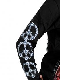 dámské moto triko s oboustranným potiskem