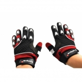 dětské rukavice na motokros Heipe červené