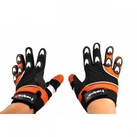 dětské rukavice na motokros Heipe oranžové
