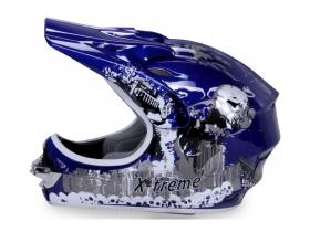dětská přilba Nitro Xtreme modrá