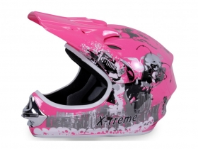 dětská přilba Nitro Xtreme růžová