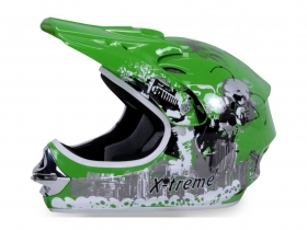 dětská přilba Nitro Xtreme zelená