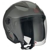 otevřená helma Speeds City II titanová lesklá