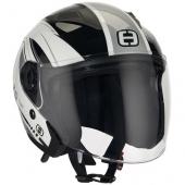 otevřená helma Speeds City II stříbrná