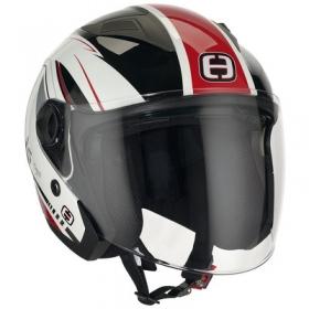 otevřená helma Speeds City II červená