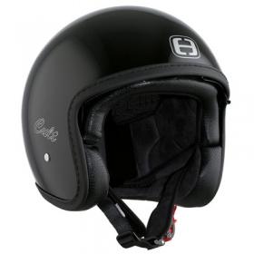 otevřená helma Speeds Cult černá lesklá
