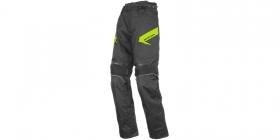 moto kalhoty Ayrton Brock černé/fluo