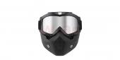 moto brýle s maskou Nox Urna