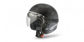 moto brýle k otevřeným přilbám NOX Legend kouřové