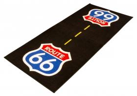 koberec pod motorku Route 66