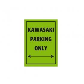parkovací cedule Kawasaki